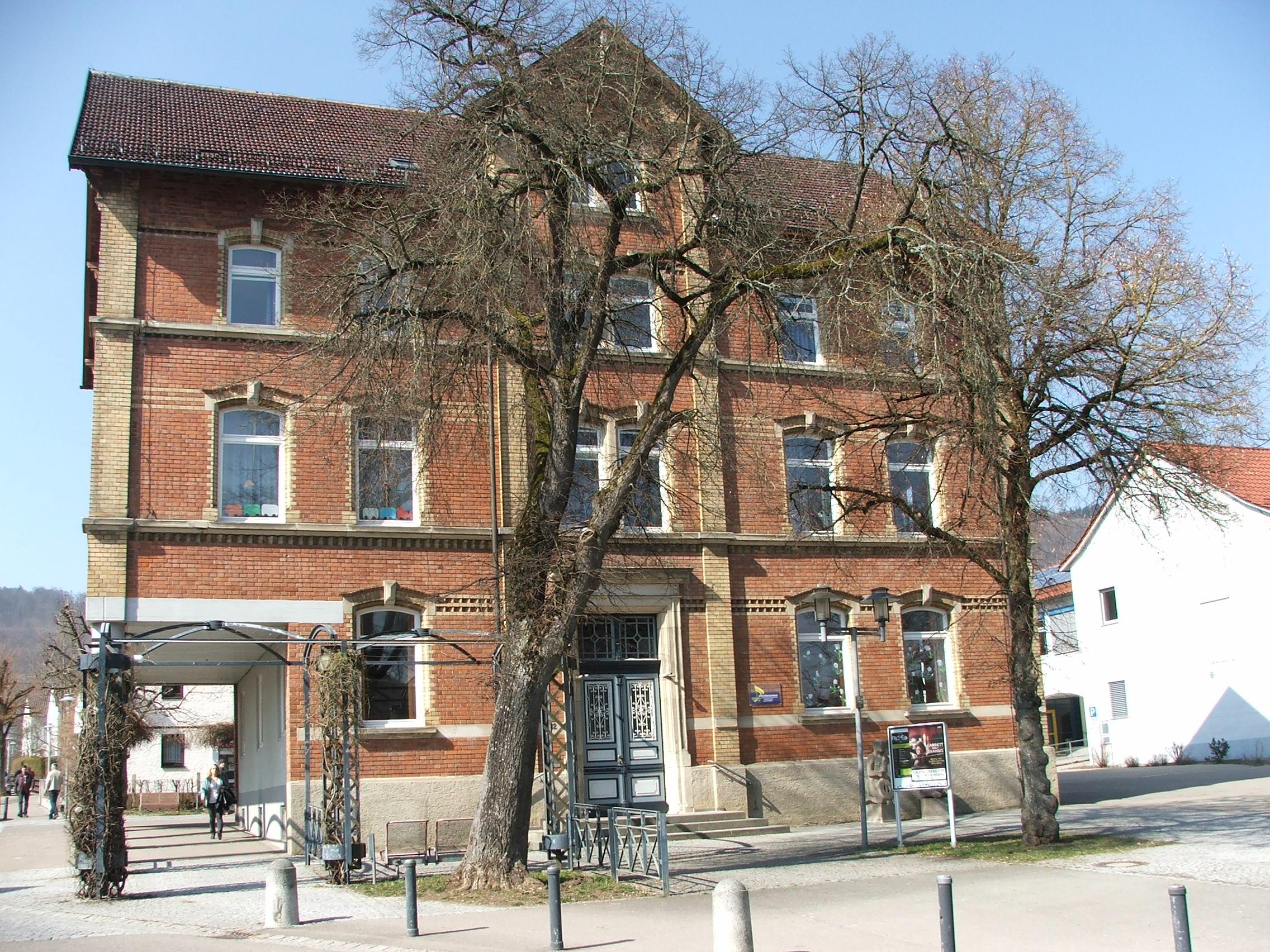 Dreißentalschule Gebäude 2015