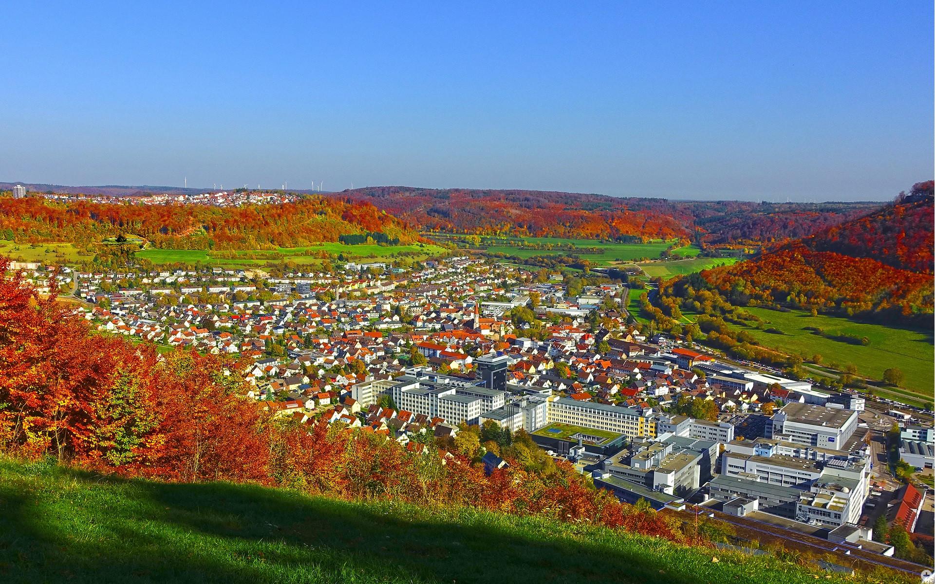 Die Stadt Oberkochen