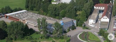 Luftaufnahme Leitz GmbH & Co. KG Oberkochen