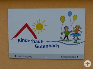 Kinderhaus Gutenbach Tafel