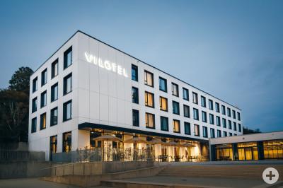 Aussenansicht Hotel / Haupteingang