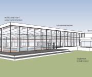 Neubau Hallenbad - Plantentwurf 2019