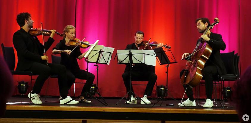 Axel Haase und das Saphir Quartett