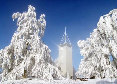 Volkmarsbergturm im Winter