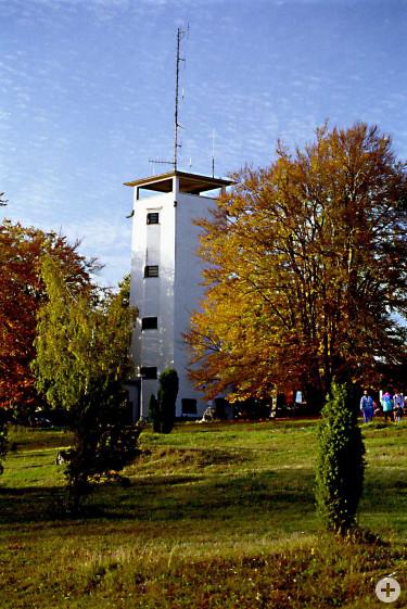 Volkmarsbergturm im Herbst