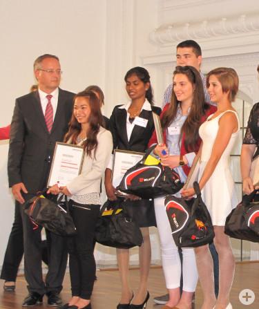 3 von 6 Landespreisträgern sind von der Dreißentalschule