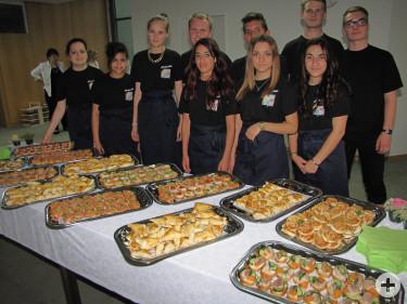 Die Schülerfirma - Profis im Catering