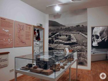 Besiedlung, Höhlen und Quellen