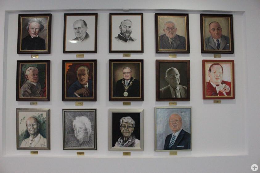 Die Ehrenbürger der Stadt Oberkochen