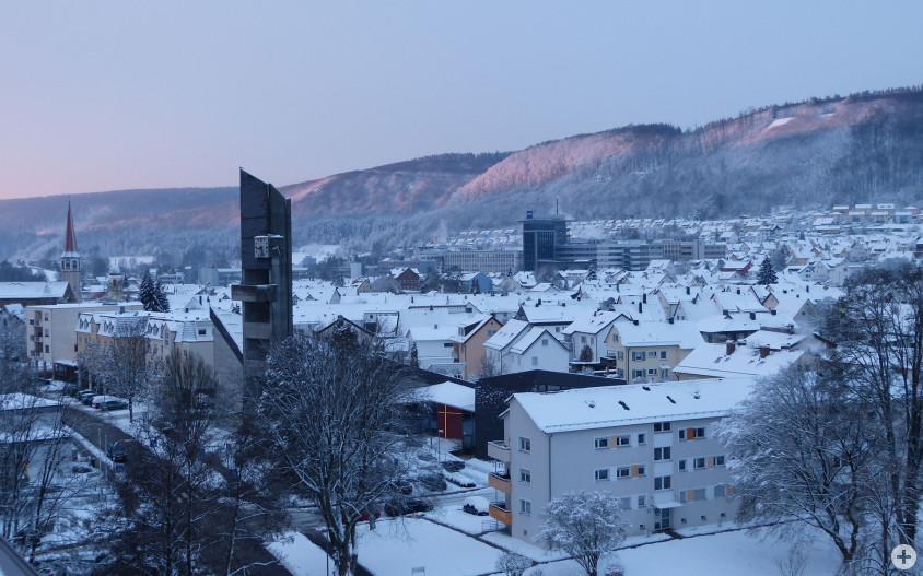 Winterlandschaft in Oberkochen