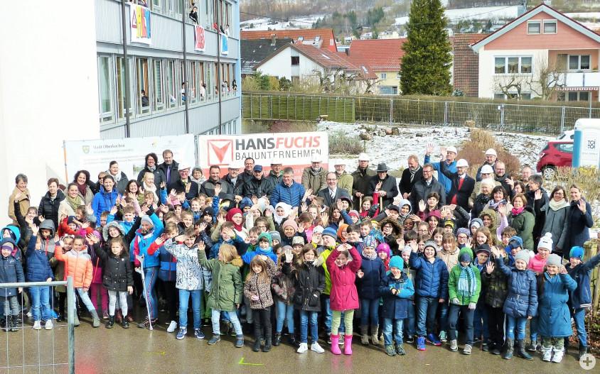 Spatenstich Schulzentrum Dreißental