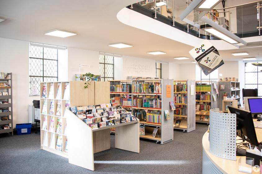 Stadtbibliothek Innen