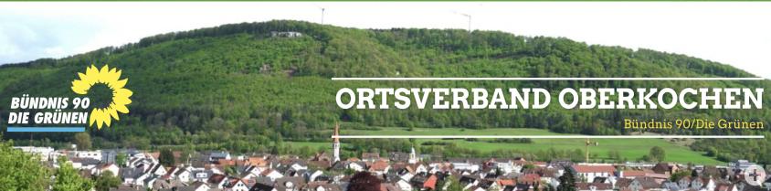 Bündnis 90 / Die Grünen - Ortsverband Oberkochen